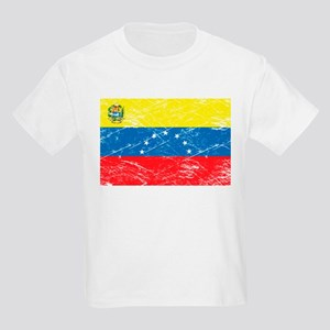 Vintage Venezuela Flag Kids T-Shirt