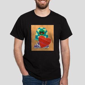 Turtle Loves You Dark T-Shirt