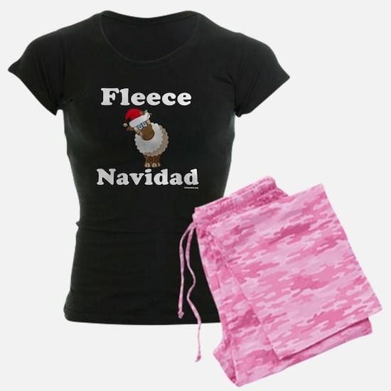 Fleece Navidad (white) Pajamas