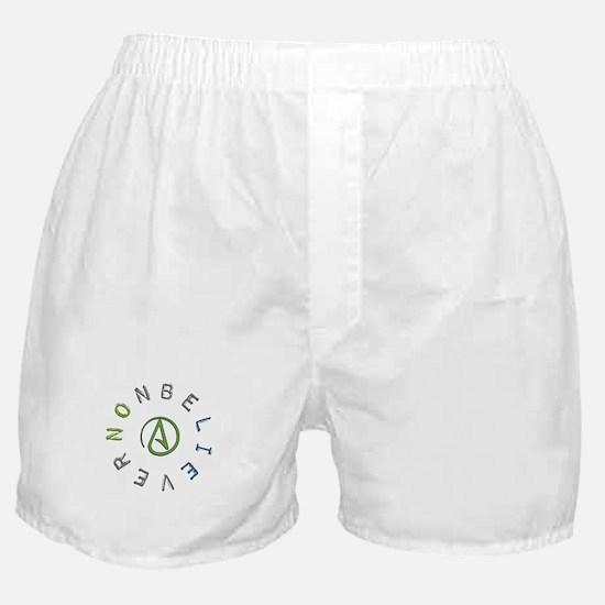 Nonbeliever Boxer Shorts
