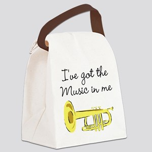 TRUMPET PLAYER Canvas Lunch Bag