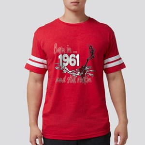 Birthyear 1961 copy Mens Football Shirt