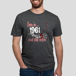 Birthyear 1961 copy Mens Tri-blend T-Shirt