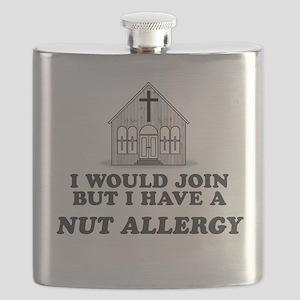 Nut Allergy Flask