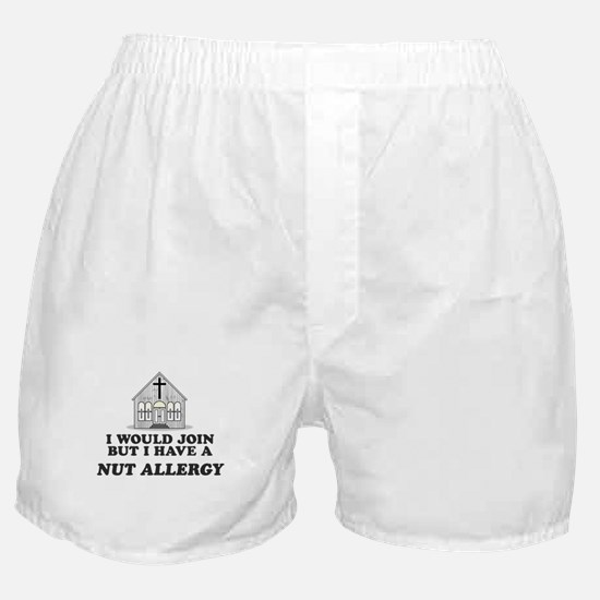 Nut Allergy Boxer Shorts