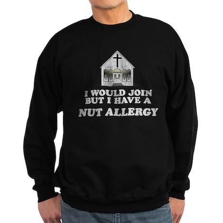 Nut Allergy Sweatshirt (dark)