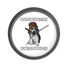 Scumbag Beagle Wall Clock