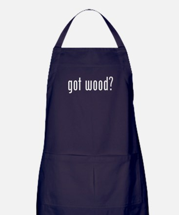 Got Wood Apron (dark)