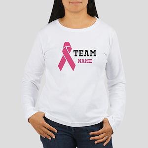 Team Support Women's Long Sleeve T-Shirt
