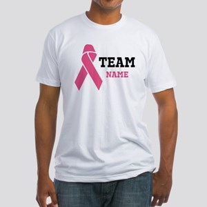 Team Support Fitted T-Shirt