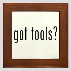 Got Tools Framed Tile