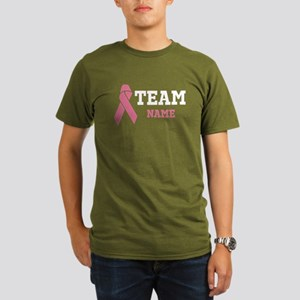 Team Support Organic Men's T-Shirt (dark)
