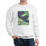 Floating Hearts Ash Grey Sweatshirt