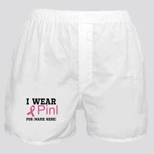 Wear Pink Boxer Shorts