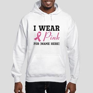 Wear Pink Hooded Sweatshirt