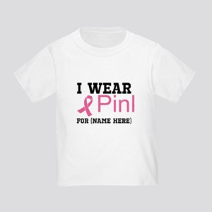 Wear Pink Toddler T-Shirt