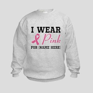 Wear Pink Kids Sweatshirt