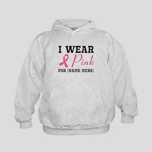 Wear Pink Kids Hoodie