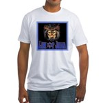 Lion of Judah 8 Fitted T-Shirt