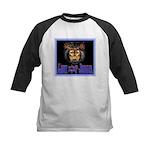 Lion of Judah 8 Kids Baseball Jersey