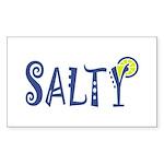 Salty Margarita Sticker (Rectangle 10 pk)