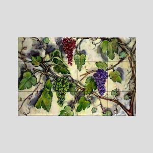 Best Seller Grape Rectangle Magnet