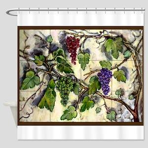 Best Seller Grape Shower Curtain
