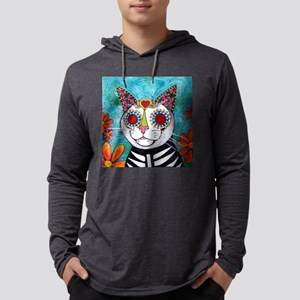 Zoey the Cat Mens Hooded Shirt
