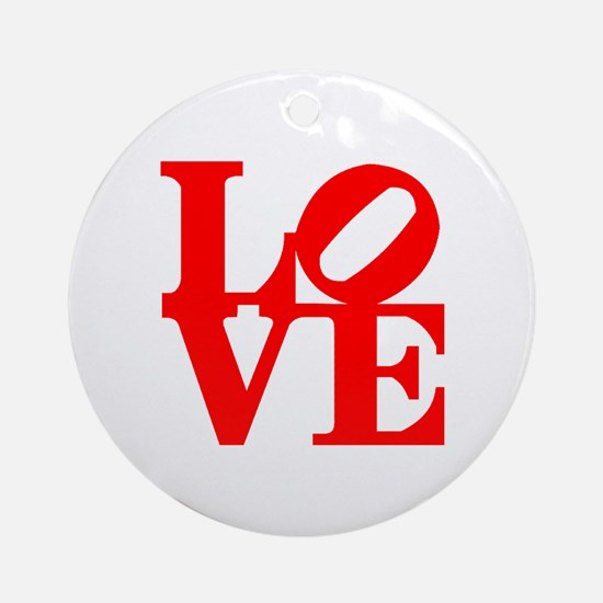 Love Ornament (Round)