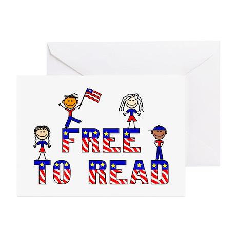 Free Stick Kids Greeting Cards (Pk of 10)