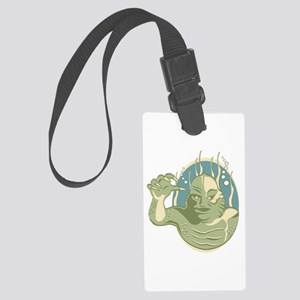 Creature from the Black Lagoon Large Luggage Tag
