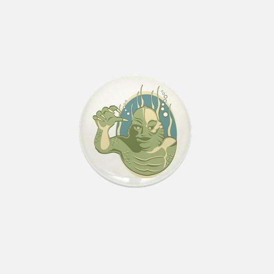 Creature from the Black Lagoon Mini Button