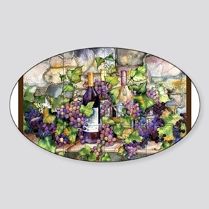 Best Seller Grape Sticker (Oval)