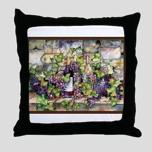 Best Seller Grape Throw Pillow