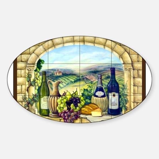 Best Seller Grape Sticker (Oval)