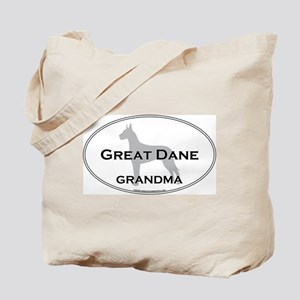 Great Dane GRANDMA Tote Bag