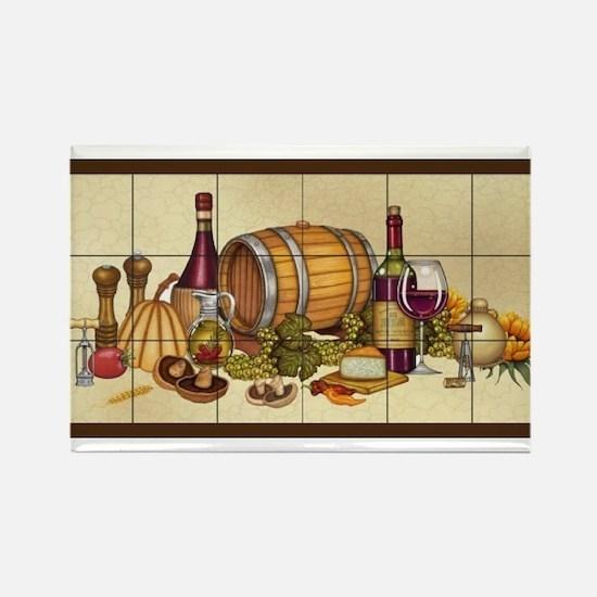Best Seller Grape Rectangle Magnet (10 pack)