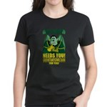 Half-Dragon Space Marine Corps Women's T-Shirt