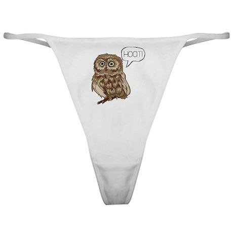 Hooting Owl Classic Thong