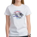 All Dolphins Lets Swim Together Women's T-Shirt