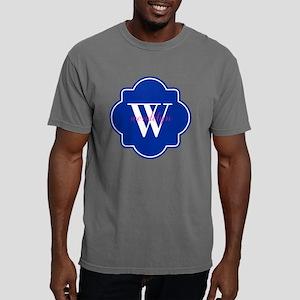 Blue Custom Personalized Mens Comfort Colors Shirt