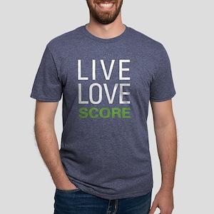 livescore2 Mens Tri-blend T-Shirt