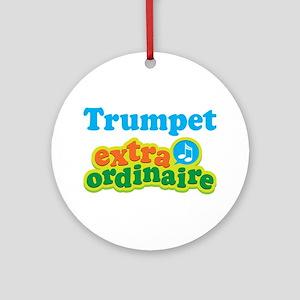 Trumpet Extraordinaire Ornament (Round)