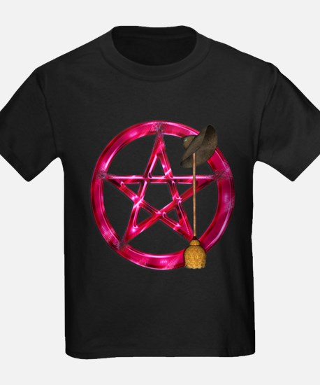 Pink Pentacle Broom - Hat T