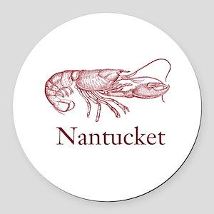 Nantucket Round Car Magnet