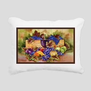 Best Seller Grape Rectangular Canvas Pillow