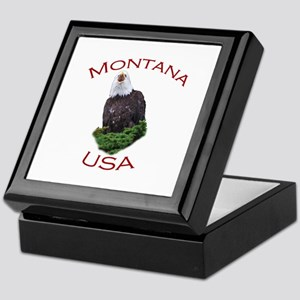 Montana, USA...Screaming Bald Eagle Keepsake Box