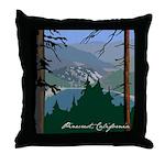 Pinecrest, CA Throw Pillow