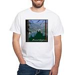 Pinecrest, CA White T-Shirt