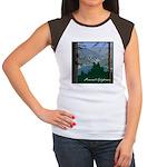 Pinecrest, CA Women's Cap Sleeve T-Shirt
